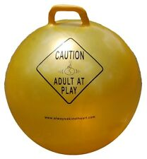 """New Caution Adult At Play Exercise and Stability Ball with Hand 00006000 le and Pump, 29"""""""