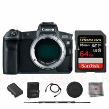 Canon EOS R Mirrorless Digital Camera Body SanDisk 64GB Extreme PRO Memory Card