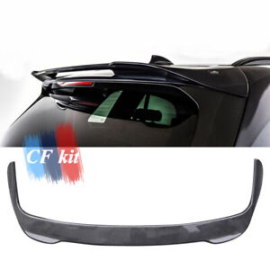 Carbon Fiber Rear Roof Spoiler Window Trunk Wing Lip Fit For BMW X5 G05 2020UP