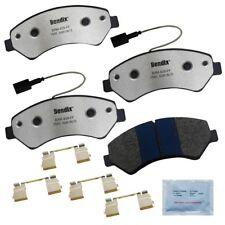 Disc Brake Pad Set-Fleet Metlok Semi-Metallic SDR Disc Brake Pad Front Bendix