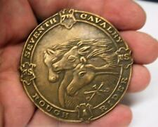 New Reproduced <> 7th Cav. Rough Rider Belt Buckle <> Solid Brass <> FREE SHIP