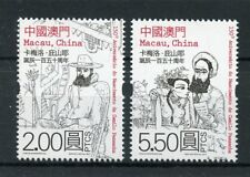 Macau Macao 2017 MNH Camilo Pessanha 150th Birth 2v Set Poets Literature Stamps