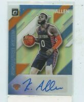 KADEEM ALLEN 2019-20 Panini Donruss Optic Signature Series Holo Silver Auto