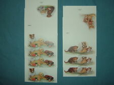 7 New Dog & Cat Note Cards-2 Designs