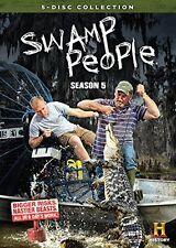 SWAMP PEOPLE : COMPLETE SEASON 5  - DVD - UK Compatible  - Sealed