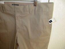 GAP Shorts- Khaki Stripe Curvy Fit-Size 14 -  NWT #D3