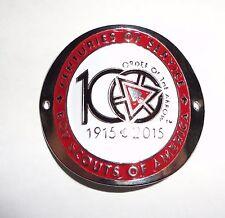 2015 NOAC OA Centennial Hiking Staff Medallion - Order of the Arrow