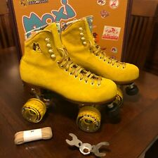 Moxi Lolly Pineapple Roller Skates, Worn Once, Size 8