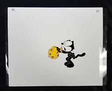 Felix the Cat Original Production Cel Opc Blowing into Bag Animation Cartoon 26