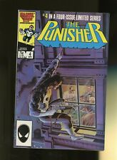 Punisher 4 VF/NM 9.0 * 1 Book Lot * Marvel Comics! 1986! Final Solution, Part 1