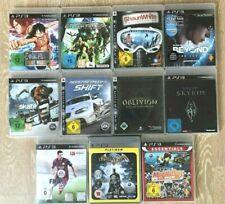 Sony PlayStation 3 / PS3 Sammlung, 11 Spiele! Alle komplett, siehe Bilder