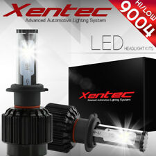 XENTEC LED HID Headlight kit 9004 HB1 White for 1987-1999 fit Nissan Pathfinder