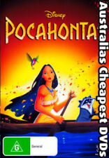 Pocahontas DVD NEW, FREE POSTAGE WITHIN AUSTRALIA REGION 4