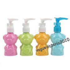 1 x leere Kunststoff Bär Sprühflasche Shampoo Flasche Makeup 50ml