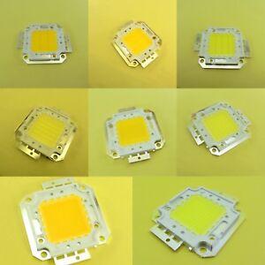 20W-100W Warm/Cold White High Power LED COB SMD Chip Floodlights 30V Bulb
