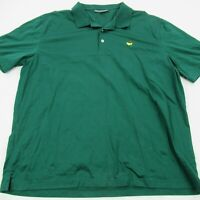 Masters Collection Shirt Men's Golf Polo Short Sleeve XXL Green Perfect