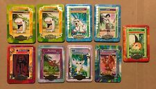 10x Metal Digimon Cards Lot Devimon Gatomon Garudamon Ikkakumon Taco Bell 2000