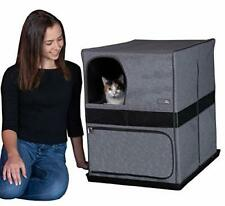 New listing Pet Gear Pro Pawty for Cats with Mesh Mat & Tray Put an End to Scattered Litt.