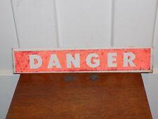 New listing Tin Danger Smutz Sign