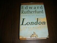 EDWARD RUTHERFURD LONDON THE NOVEL HC DJ 1ST AMERICAN EDITION 1997