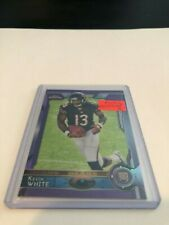 2015 Topps Chrome Football Kevin White Chicago Bears Purple Refractor rookie 125