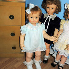 Sweet Vintage Party Dress & Full Slip 4 Saucy Walker & Penny Play Pal Dolls
