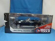 1967 CORVETTE  L88  MATCO TOOLS DIECAST. MINT IN THE BOX--RARE BLACK 5931