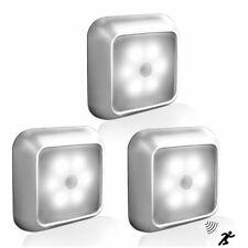 LED Motion Sensor Light Wireless Night Light Battery Powerd Cabinet Stair Lamp