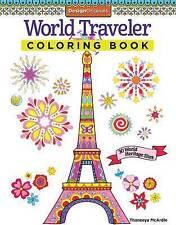 World Traveler Coloring Book: 30 World Heritage Sites, Paperback, New