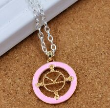 2 pcs new Kingsman The Secret Service badge sign pendant necklace gift