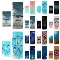 Outdoor Seamless Magic Turban Riding Warmer Headband Scarf Bandana Face Mask