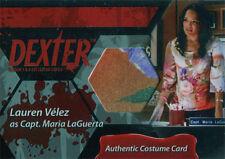 Dexter Seasons 7 & 8 Costume Wardrobe Card C23 Laura Velez Capt. Maria LaGuerta