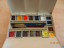 winsor and newton japanned ringback watercolour paint tin