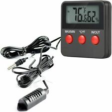 Digital Lcd Thermometers Hygrometers Indoor Outdoor Temperature Humidity Monitor