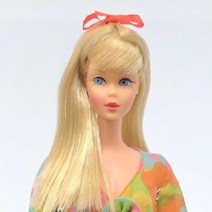Vintage Barbie TNT - GORGEOUS Pale Blonde - Japan - Swimsuit - Flower Wower
