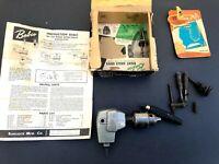 Vintage Babco 742 Right Angle Drive w Coastal Drill Chuck & Box Made in USA
