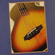 Pop-tarjeta Feat. Washburn AB20 detalle, 11x15cm Tarjeta de felicitación AAW