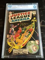 Justice League of America #3 1st Appearance of Kanjar Ro CBCS 5.5 Cream/O White
