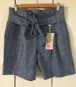 Boden Linen Shorts. Size 10. New With Tags.