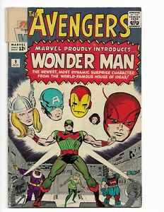 AVENGERS 9 - QUALIFIED G/VG 3.0 - CAPTAIN AMERICA - IRON MAN - BARON ZEMO (1964)