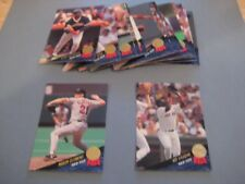 1993 Leaf Boston Red Sox Team Set With Update 20 Cards