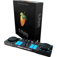 FL Studio Fruity Edition w/ Hercules DJControl Compact DJ Software Controller