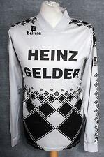 #3 VINTAGE BELTONA HEINZ GELDER LONG SLEEVED SHIRT MENS ORIGINAL 80's RETRO RARE