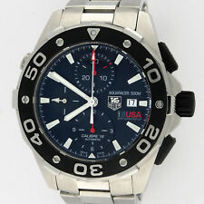 TAG Heuer Aquaracer 500M Caliber 16 Chronograph CAJ2111.BA0872 SS 44mm Watch