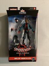 """New listing Marvel Legends Spider-Man Spider-Verse Miles Morales 6"""" Baf Stilt Man In Stock"""