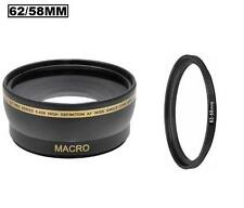58mm Wide Angle Lens for Casio Exilim EX-F1 and Sony DSC-RX10