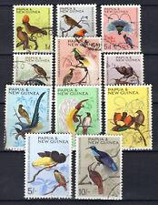 Papua New Guinea - 1964 Definitives birds - Mi. 62-72 VFU