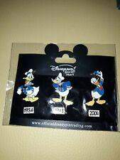 6 Pins Trading Disneyland Paris Disney Donald Duck Pin Set NEU