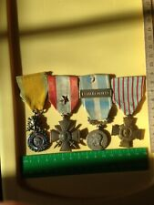 Four (4) Medals of the French Foreign Legion