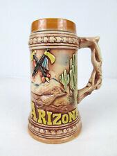 Vintage 3D Arizona Grand Canyon Souvenir Mug Made in Japan 7 Inches Tall